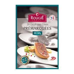 foie gras escalopes pré-marquées rougié