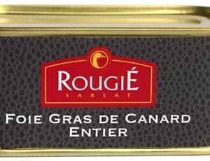 foie gras canard entier rougie 200g conserve