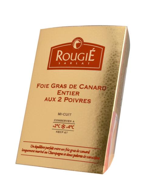 foie gras poivre champagne étui