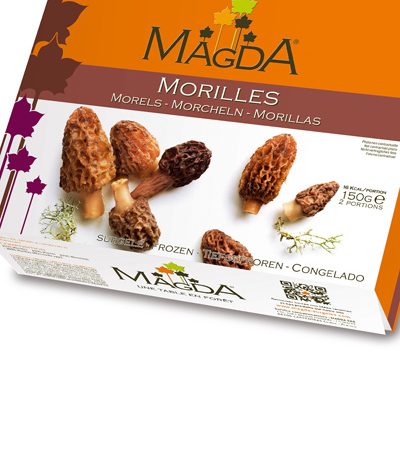 Morilles surgelée Magda