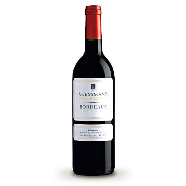 Vin Bordeaux Kressman rouge Kressmann