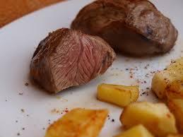noix joue de porc et pomme de terre
